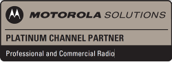 DCS 2 Way Radio Accredited with Platinum Status by Motorola