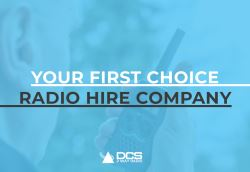 Your First Choice Radio Hire Company