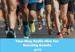 Two Way Radio Hire for Running Events