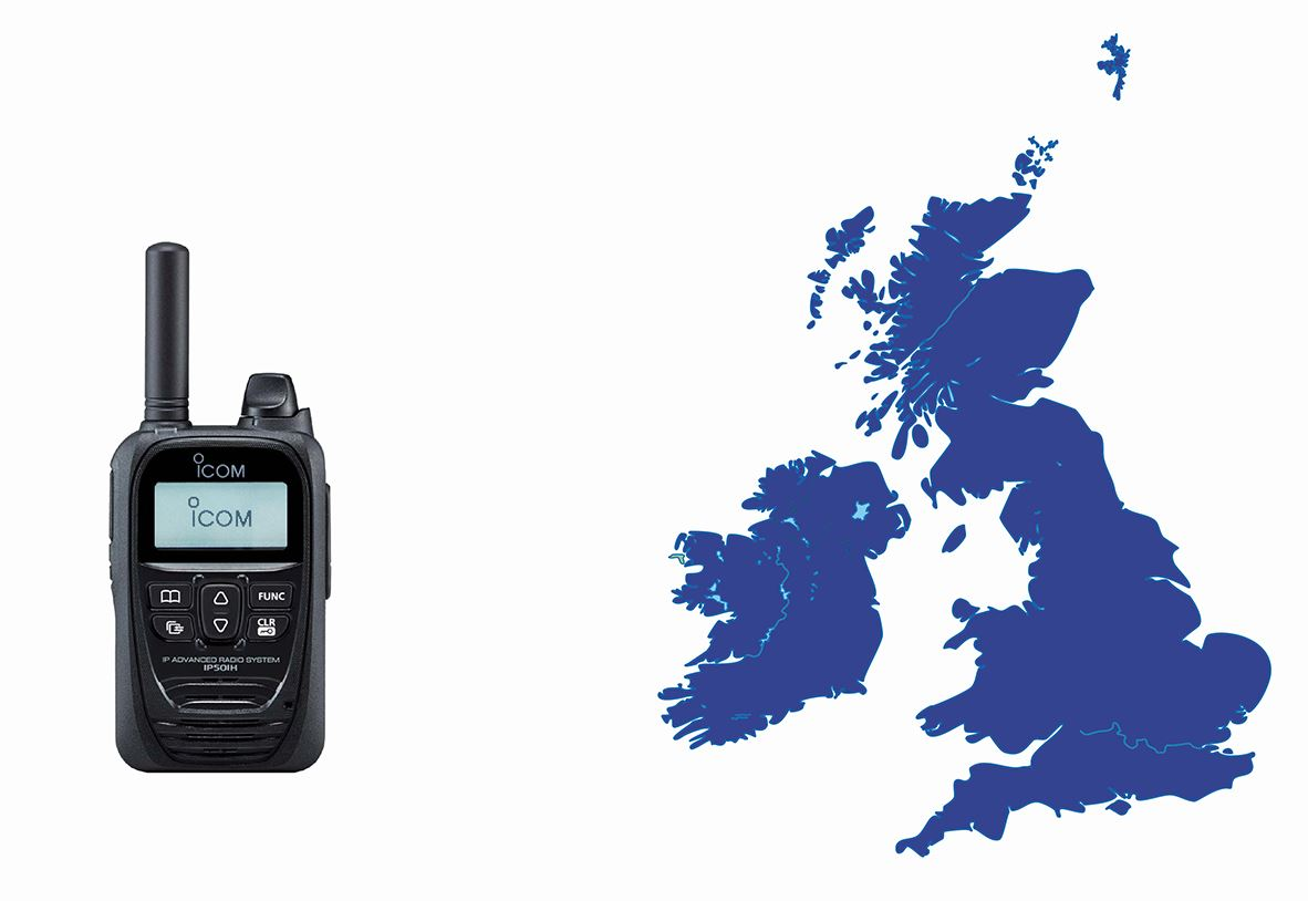 ICOM POC Two Way Radio Hire | Two Way Radio Hire