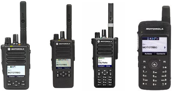 Two way radios recommended for integration with R-Linx
