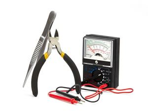 Radio repair diagnostic equipment